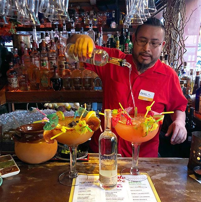 """If you haven't tried our """"Gigante"""" Margarita yet, you're doing it wrong."""