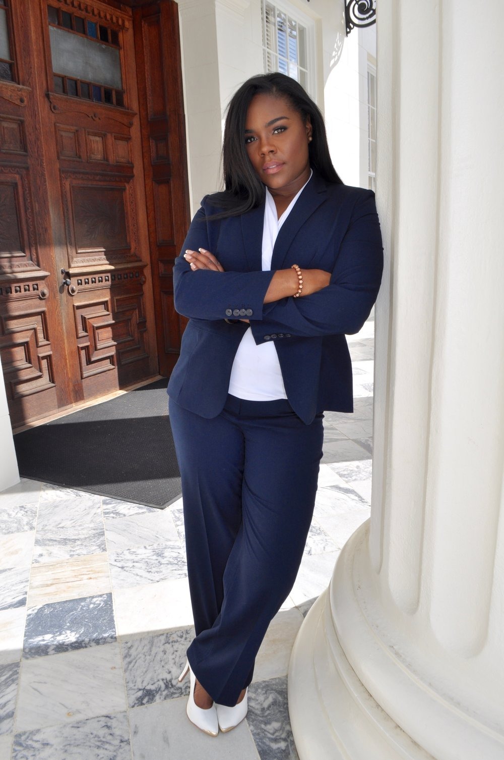 Kia Scott at the Capital