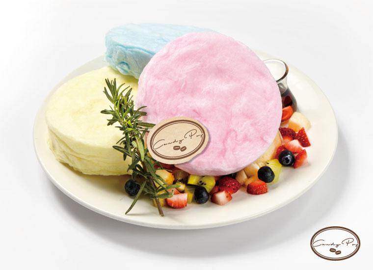 Cotton Candy Pancake