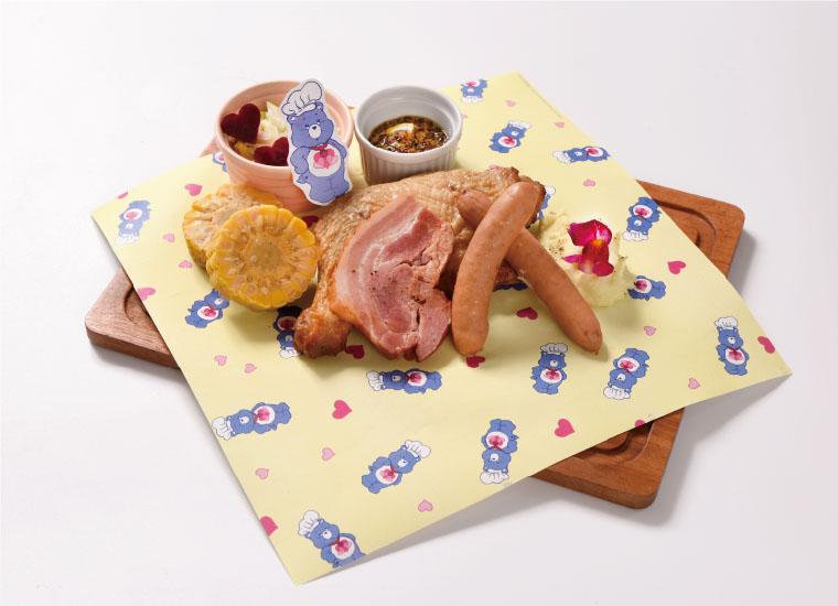 デイドリームベア™️のアメリカンBBQプレート | American BBQ plate of Daydream Bear ™