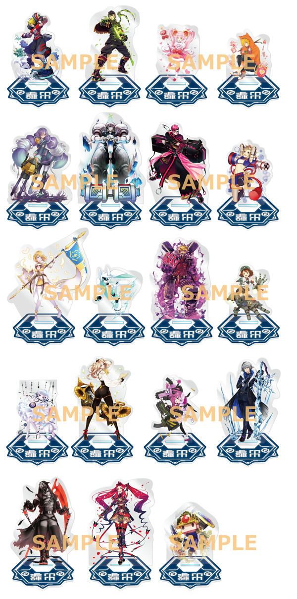Click image to Expand! - Special set acrylic stands (19 designs!). You may not choose your design!