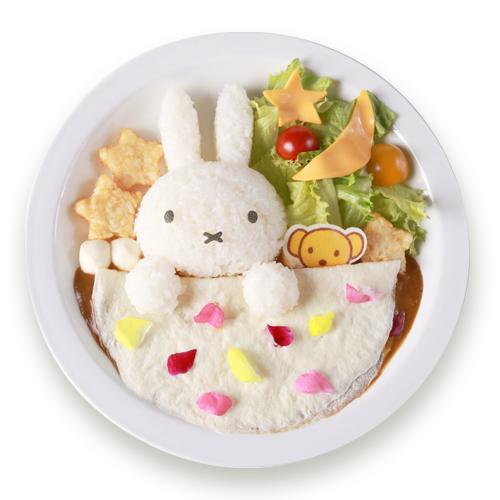 ミッフィーがお花のゆめ見るカレー 1,491円