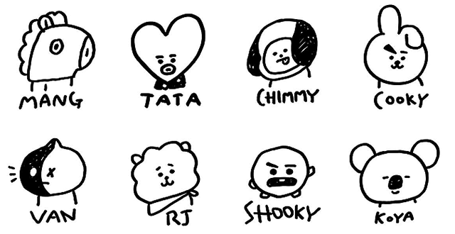 Source: Official BT21 About Page