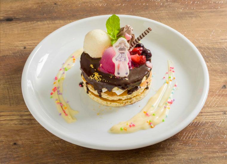 有咲のほんとは嬉しい(?)友チョコパンケーキ