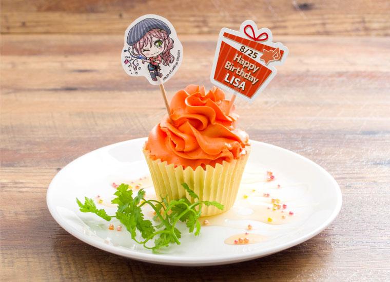 今井リサ誕生日限定カップケーキ