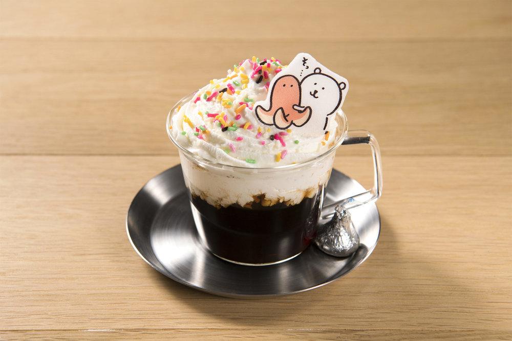 ウインナーさんをソッ〜ウんナーコーヒー&ミルクティー〜