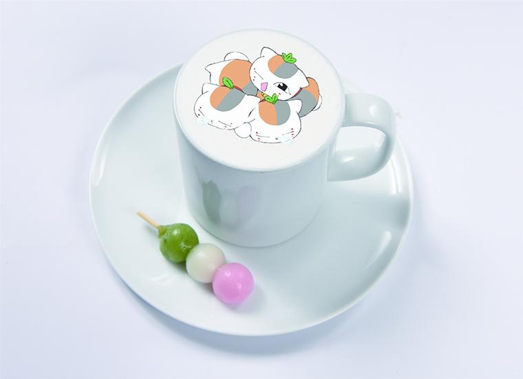 秋の月見モカ ~ミニおだんご付き~ ¥ 990(税抜)