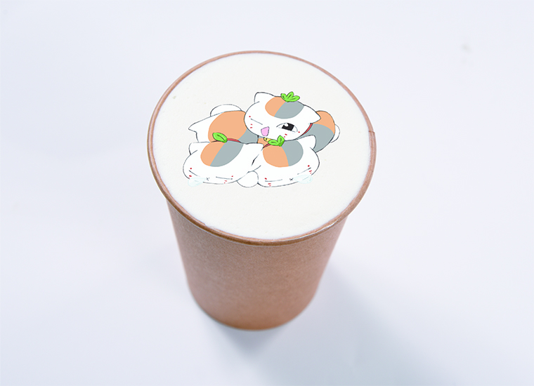 秋の月見モカ ~ミニおだんご付き~