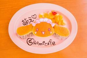新人メイドモカのしっとりパンケーキ1,000円(税別)
