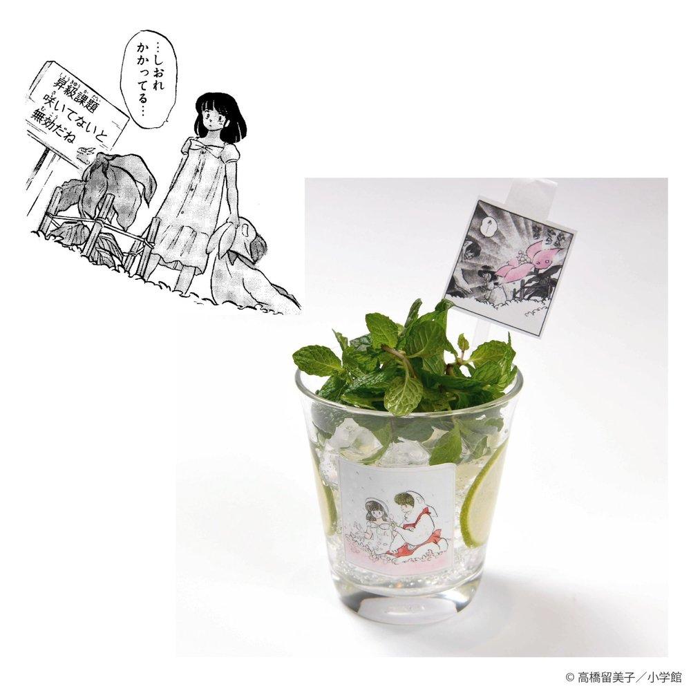 10. 時空の森の花モヒート ¥790
