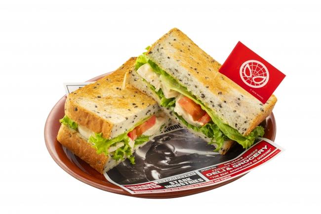 1. 隣人のソウルフード「5 番のサンドイッチ」1,200円(税込み)