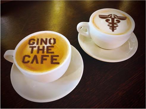 5. GINO THE CAFE特製ノブチーノ