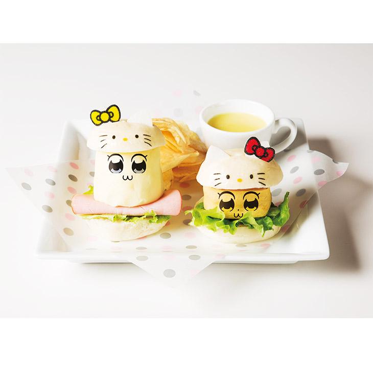 2. ポプ子とピピ美のキティコスバーガーセット