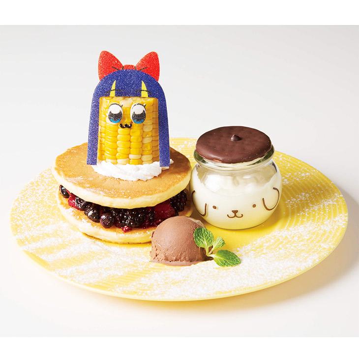 4. 「ぜったい流行る」プリンも踊る エイサァァ~イハラマスコーンパンケーキ
