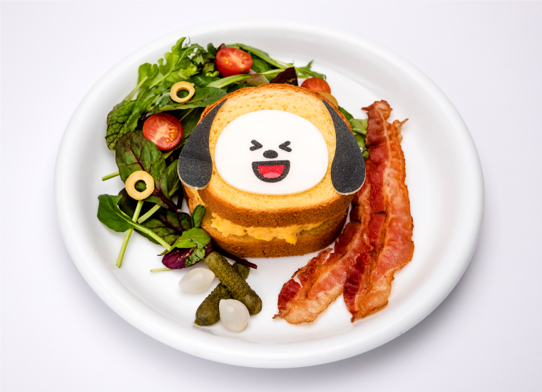 2. CHIMMYのエッグサンド