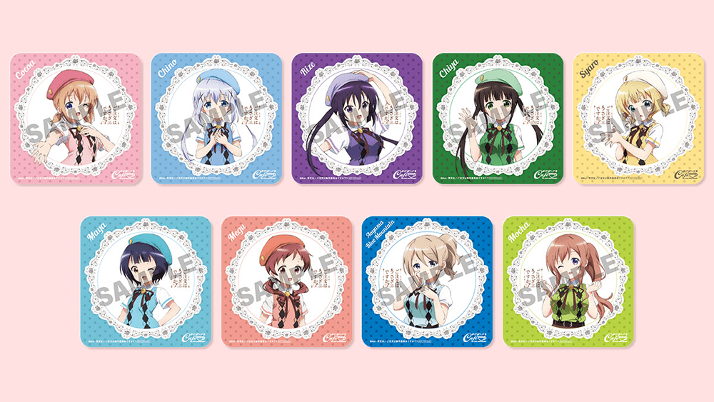 Is the Order a Rabbit?  novelty coasters