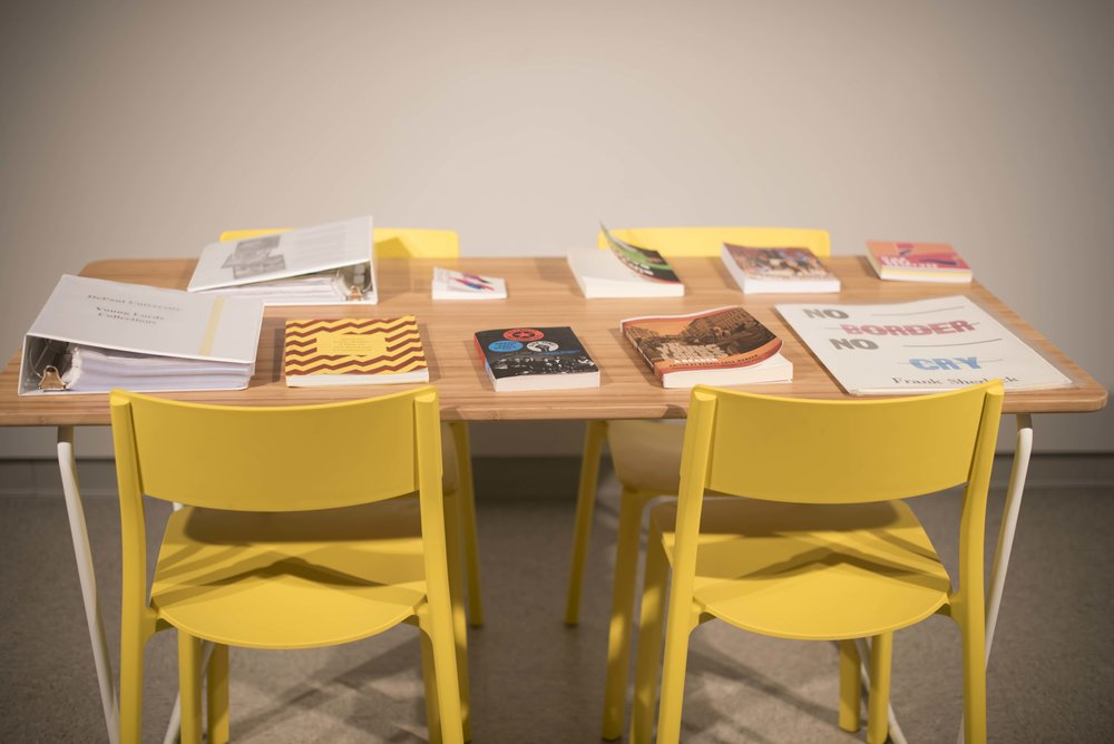 Reading area for  Organize Your Own  at the ATMA