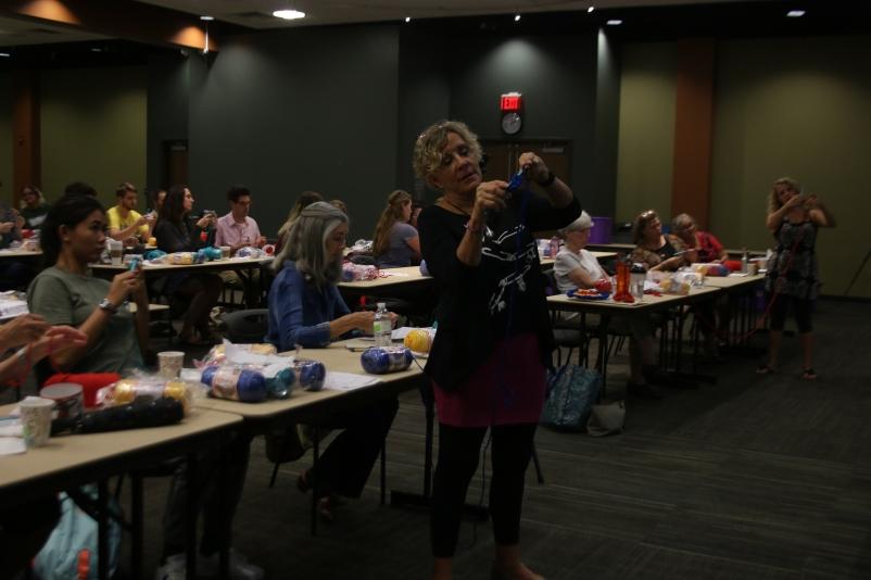 Workshop at Augustana College (photo credit: Augustana Photo Bureau)