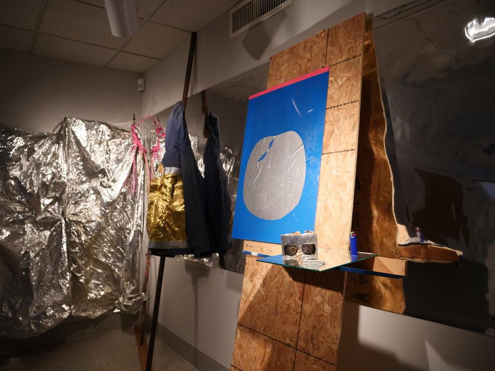 Installation photo for 5 Alumni: Continuing to Create. Photographer: Jacob Pecaut.