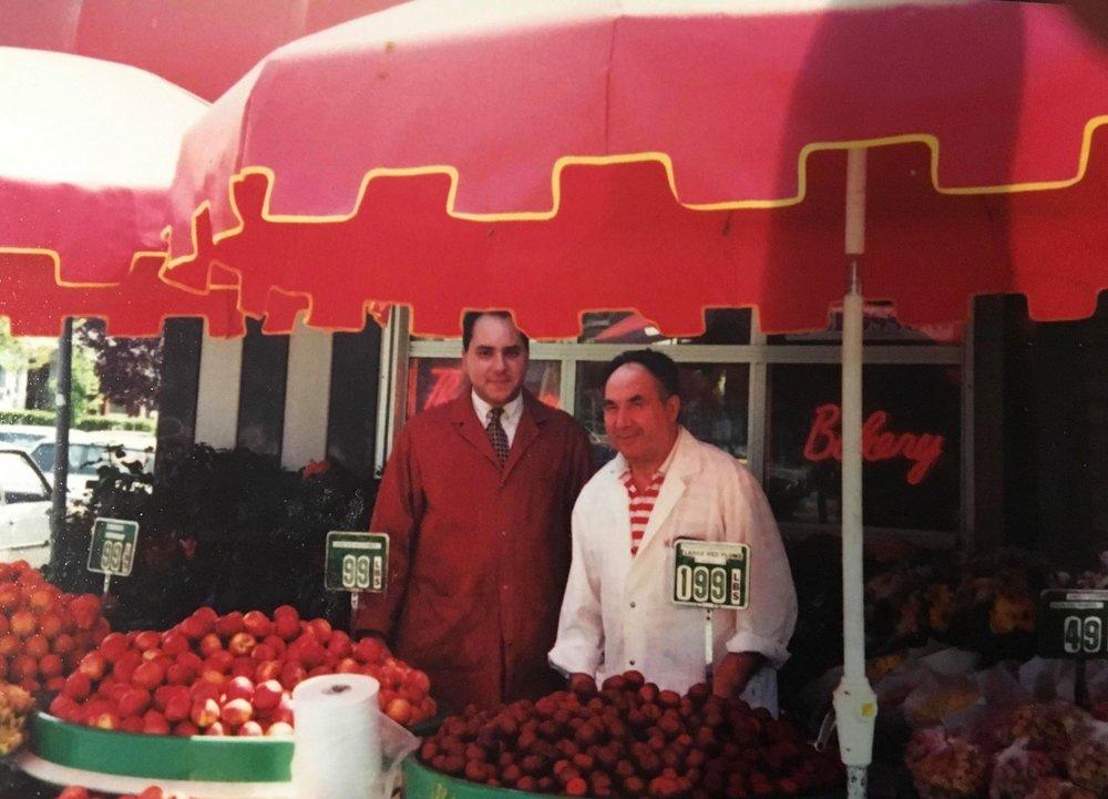 Ernesto & his father Antonio Monte