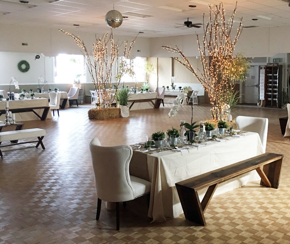Perfect for affordable receptions!
