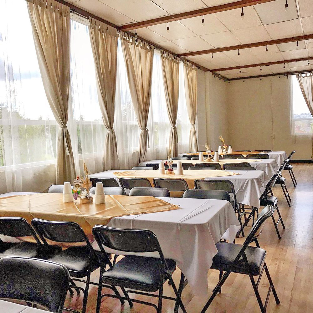 Elegant venue ready for you to add your touch