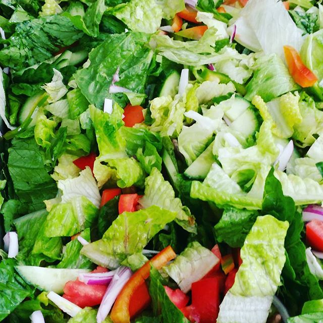Whoever said you dont make friends with salad never met this pretty lady we will be serving her up with a tasty tuna pie tonight and its only $5 #healthyandcheap #thesocialkitchen #vege #salad