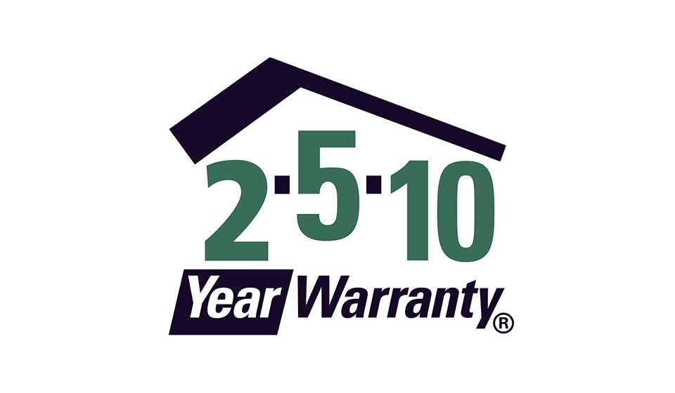 2-5-10 Year Warranty
