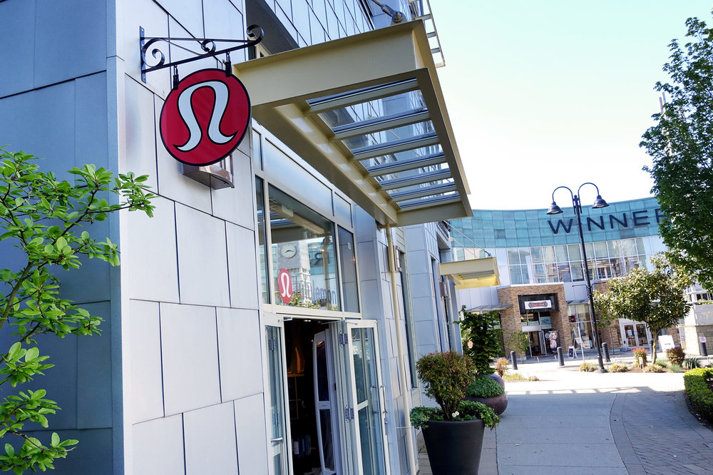 Lululemon and Winners at The Shops at Morgan Crossing