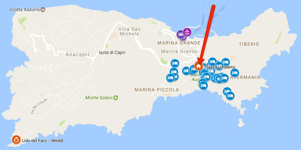 Staying in Capri Mariam Amin Chris JantzSell