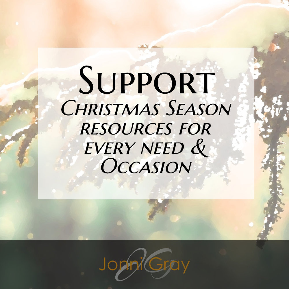 support - christmas season resources
