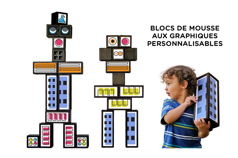 PLAYBLOK DE TOBOGGAN - BLOCS DE MOUSSE PERSONALISABLES