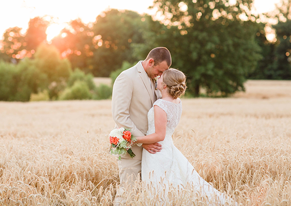Chelsea & Trevor | Kentucky Bride magazine Real Kentucky Wedding  blog feature | Photo by Leah Barry Photography