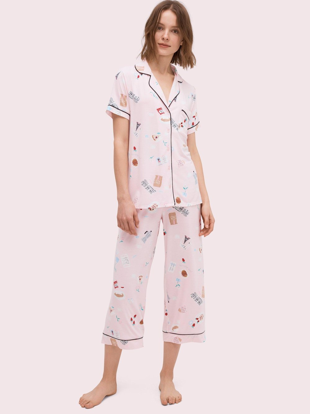 Parisian Breakfast Pajamas - Kate Spade, shop here.