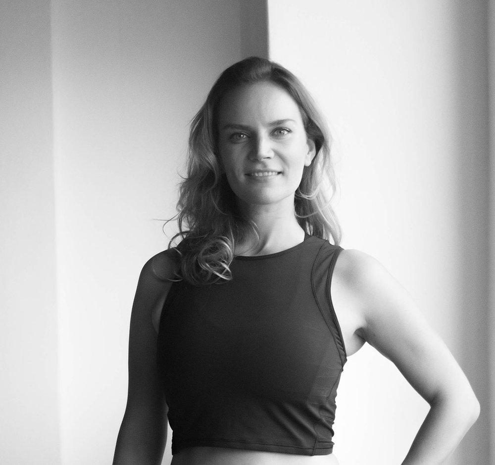 Karina Lawatsch - teacher                    YOGA (DE/EN)CERTIFICATIONS:• 200H Y4ALL Yoga Certificate• 100H Y4ALL Advanced Yoga Certificate•E-RYT 200