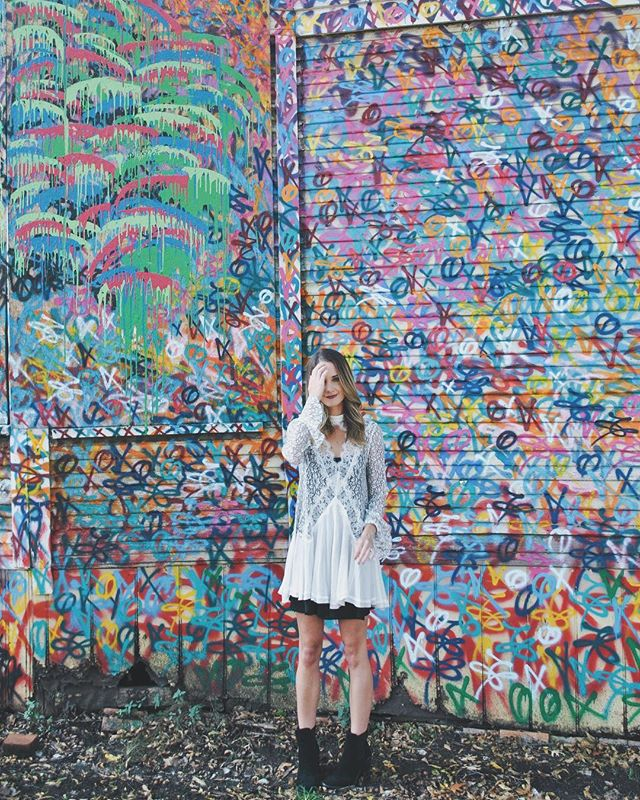 Bishop arts 🎨 | #dallas #streetart • • • • • #fashion #freepeople #love