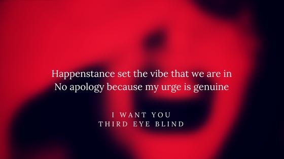 I Want You Third Eye Blind