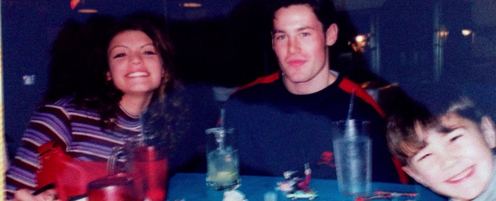 Liseli, Christian and Garvin Thiele, San Francisco, 1999