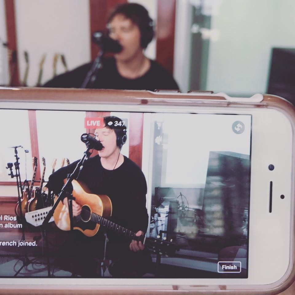 Stephan Jenkins on Facebook Live, performing I Want You, Self Titled, Third Eye Blind