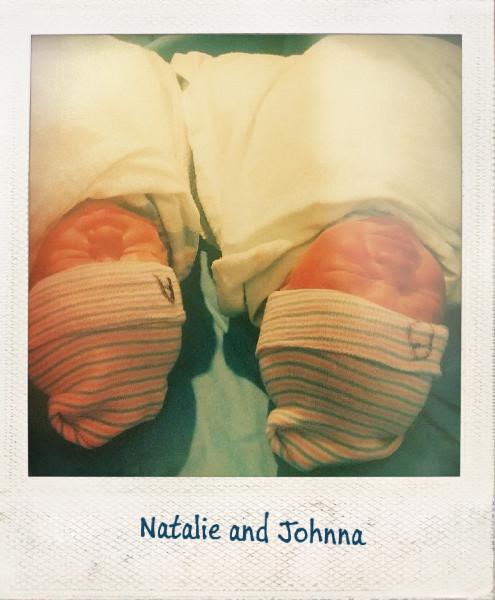 Natalie and Johnna