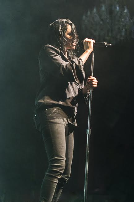 K.Flay at the Fillmore SF. Photography by Kris Comer.