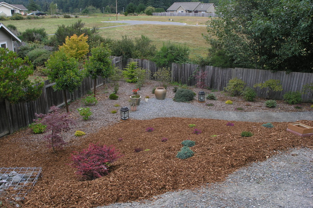 McKinleyville, CA Garden Design by Ryan Scott