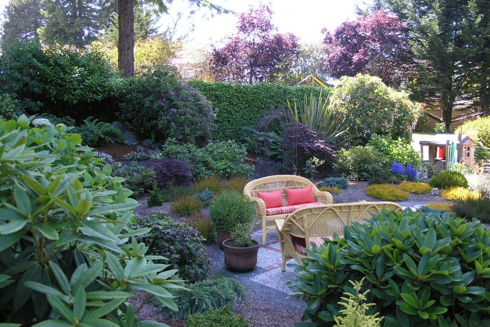 Eureka, CA Garden Design by Ryan Scott