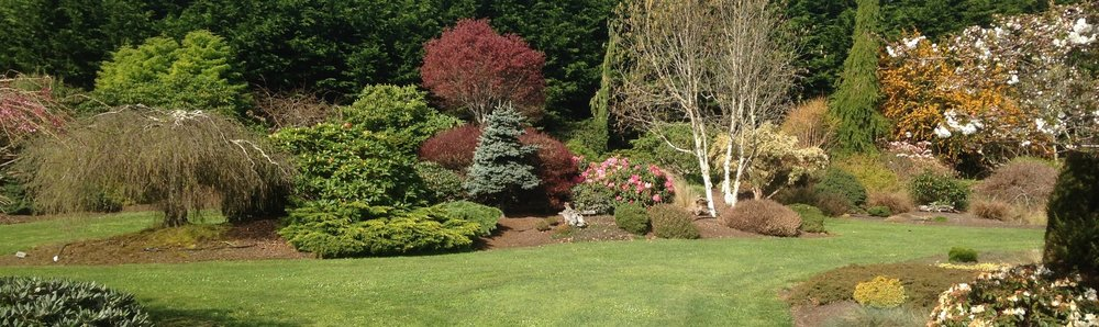 2 Acres Of Display Gardens Showcasing A Diverse Variety Of Ornamental  Plants In A Park Like Setting.