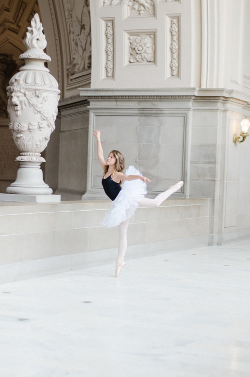 Ballet Dancer San Francisco Angela Nunnink Photographer Bay Area Dancer