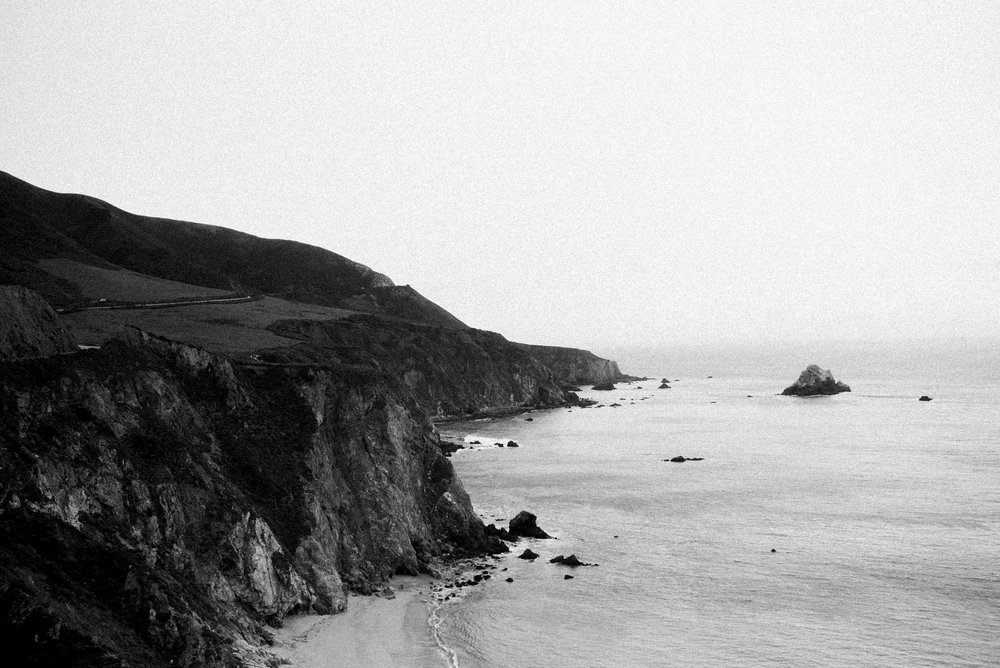 Carmel By the Sea Angela Nunnink Photography Black and White Photography Mastin labs