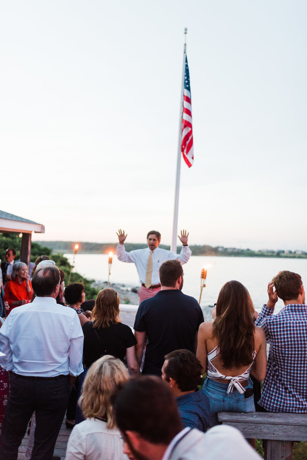 clam bake rehearsal dinner, Mishuam Point, Boston, East Coast Wedding, Angela Nunnink Photography, Destination Photographer, Travel, yacht club, family home