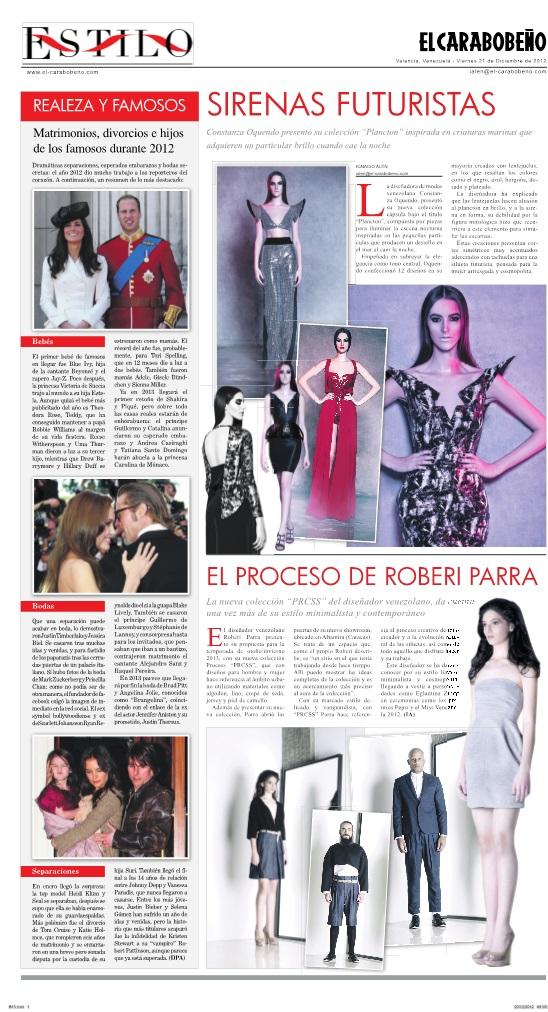 El Carabobeño, Estilo viernes 21 de diciembre 2012.jpg