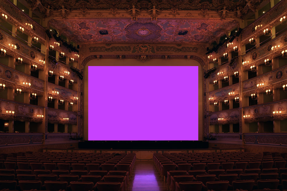 Kimsooja, To Breathe: Invisible Mirror/Invisible Needle (2005), 10:01 loop, sound from Kimsooja's The Weaving Factory (2004) voice performance, 9:52 loop. Installation view at Teatro La Fenice, Venice, 2005. Photo by Luca Campigotto. Courtesy of The Bevilacqua La Masa Foundation and Kimsooja Studio