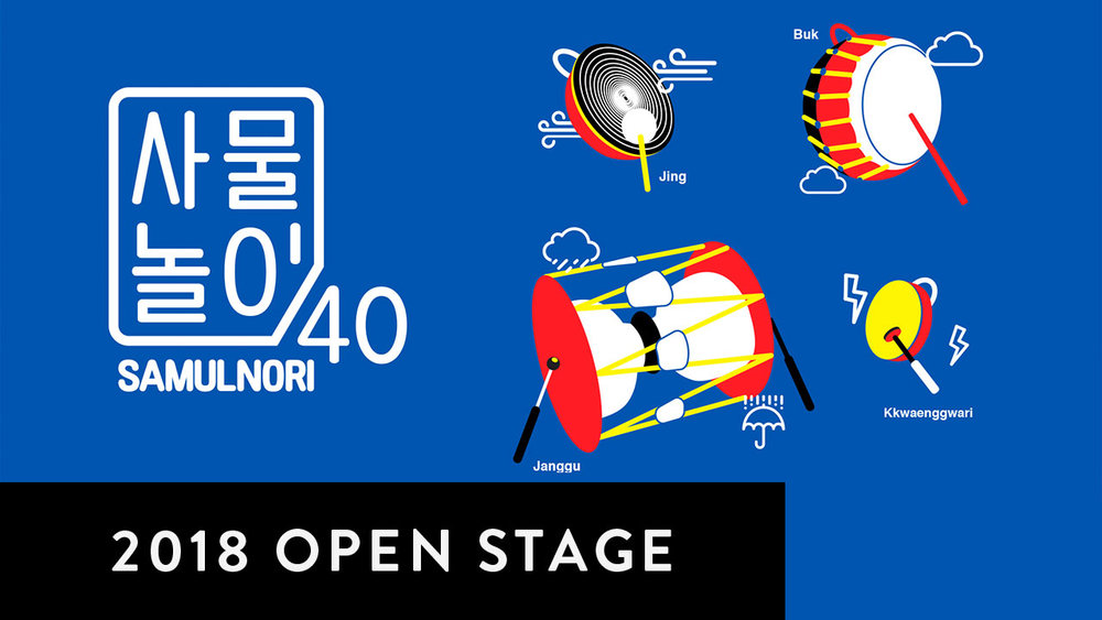 OPEN STAGE 2018: SAMULNORI